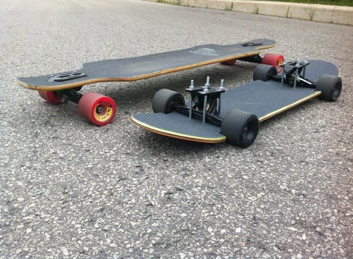 Low Profile Skateboard Metal Fabrication, Sheet Metal, Skateboard, Product  Design, Profile