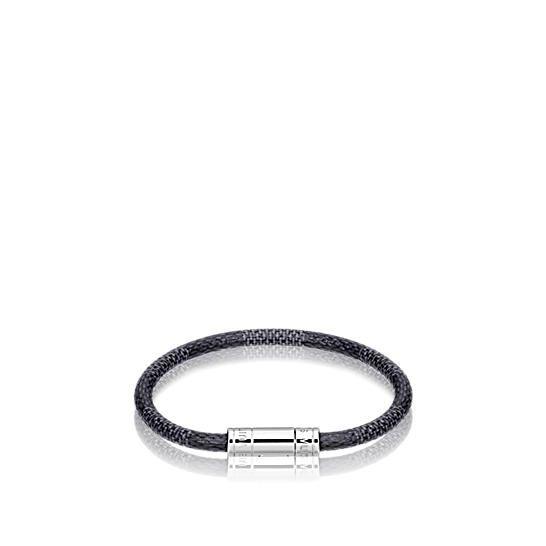 Bracelet Keep It Damier Graphite HOMME ACCESSOIRES Bracelets en cuir   LOUIS  VUITTON 848f2d4a8f8