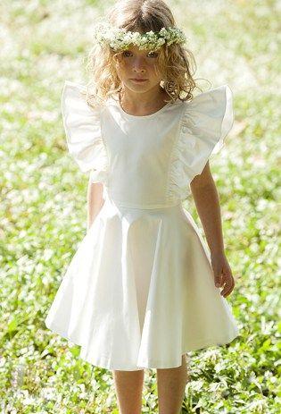 Robe blanche bebe la redoute