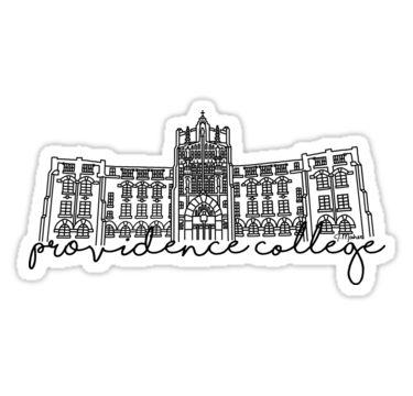 "Providence Friars University College NCAA Car Bumper Vinyl Sticker Decal 6/""X3/"""