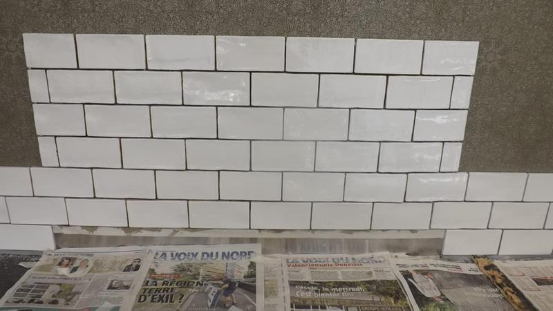 Faience Mur Blanc Brillant L 7 5 X L 15 Cm Bakerstreet Murs