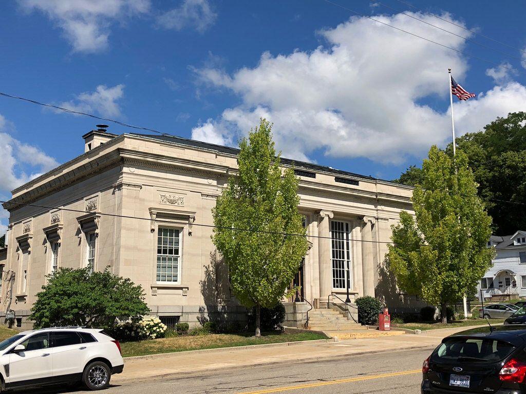 Post Office Ionia Michigan Paul Chandler July 2018 Historic Buildings Post Office Michigan