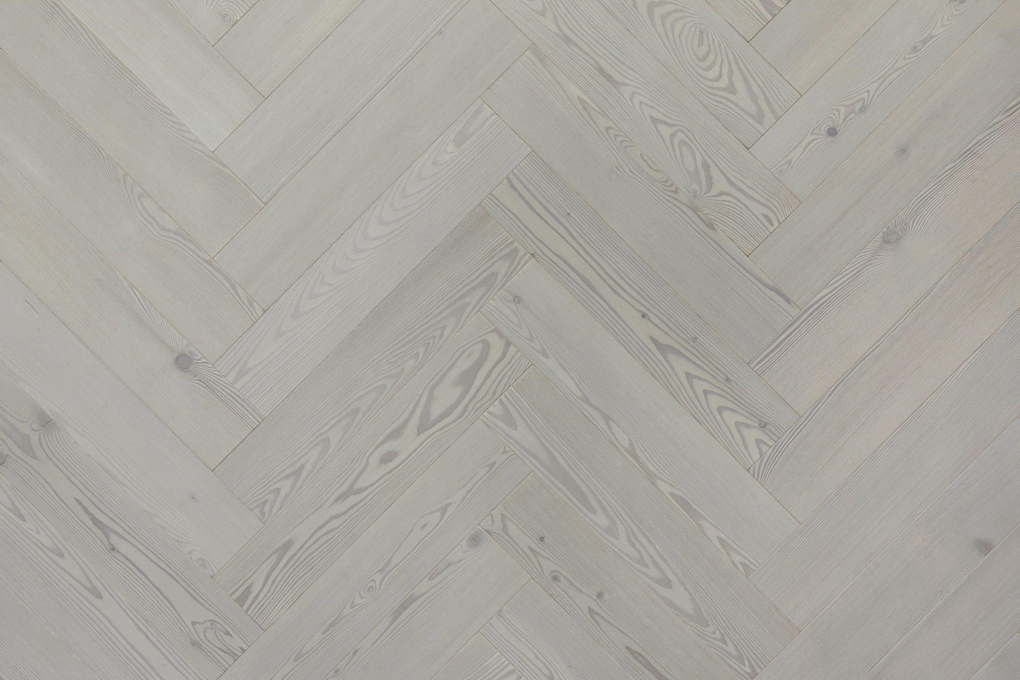 Larch, Grey, Lye  Herringbone - Element7 Herringbone Floors