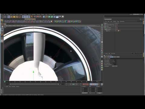 ▶ Sub-D Modeling in C4D - Lesson 11 Part 2 - Radial Patterns - Car Rim - YouTube
