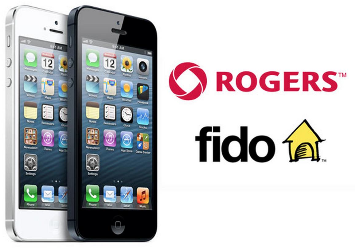 ROGERS OR FIDO APPLE iPHONE UNLOCK ANY MODEL