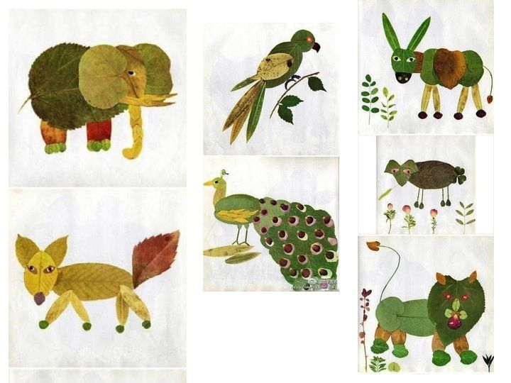 harvest arts and crafts ideas leaf animals leaves craft and harvest 6696