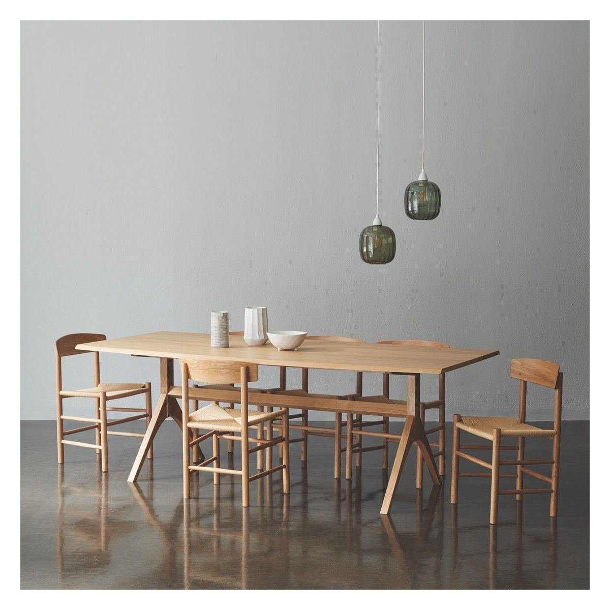 Oregan Dining Set With Oregan Oak Table And 6 Chairs  Oak Dining Interesting Oak Dining Room Table And 6 Chairs Design Decoration
