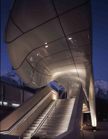 Nordpark Cable Railway by Zaha Hadid Architects - Dezeen