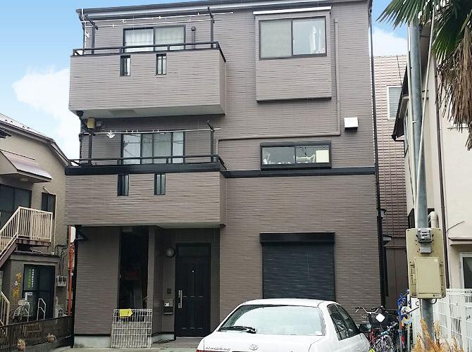 東京都足立区興野の外壁塗装 屋根塗装工事の施工後 塗装 工事 外壁