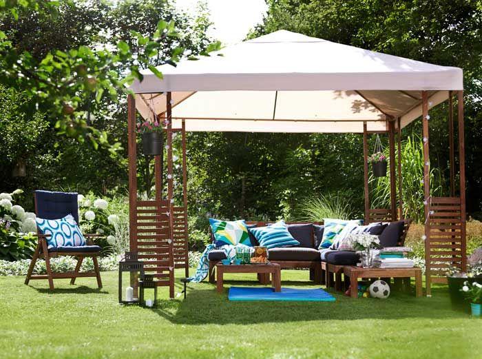 Pplar gazebo dream house pinterest house extensions and pergolas - Ikea pergolas jardin ...