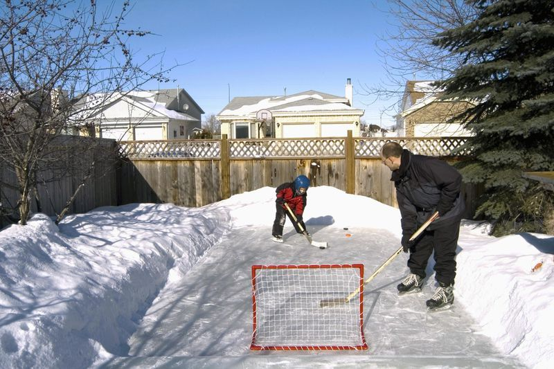 Enjoy Winter by Building Your Own Backyard Ice-Skating ...