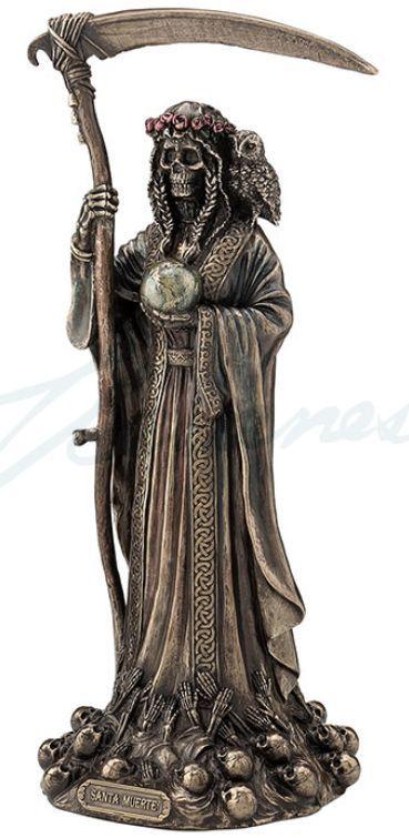 Santisima Muerte Statue Tatuajes De Santa Muerte Santa Muerte