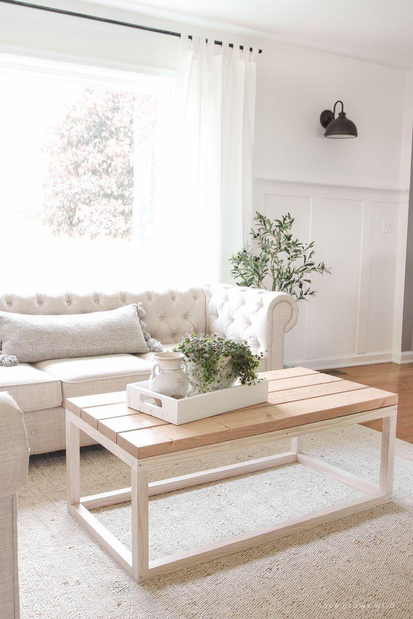 Photo of Simple DIY Coffee Table