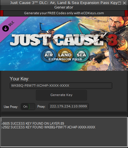 product key just cause 3