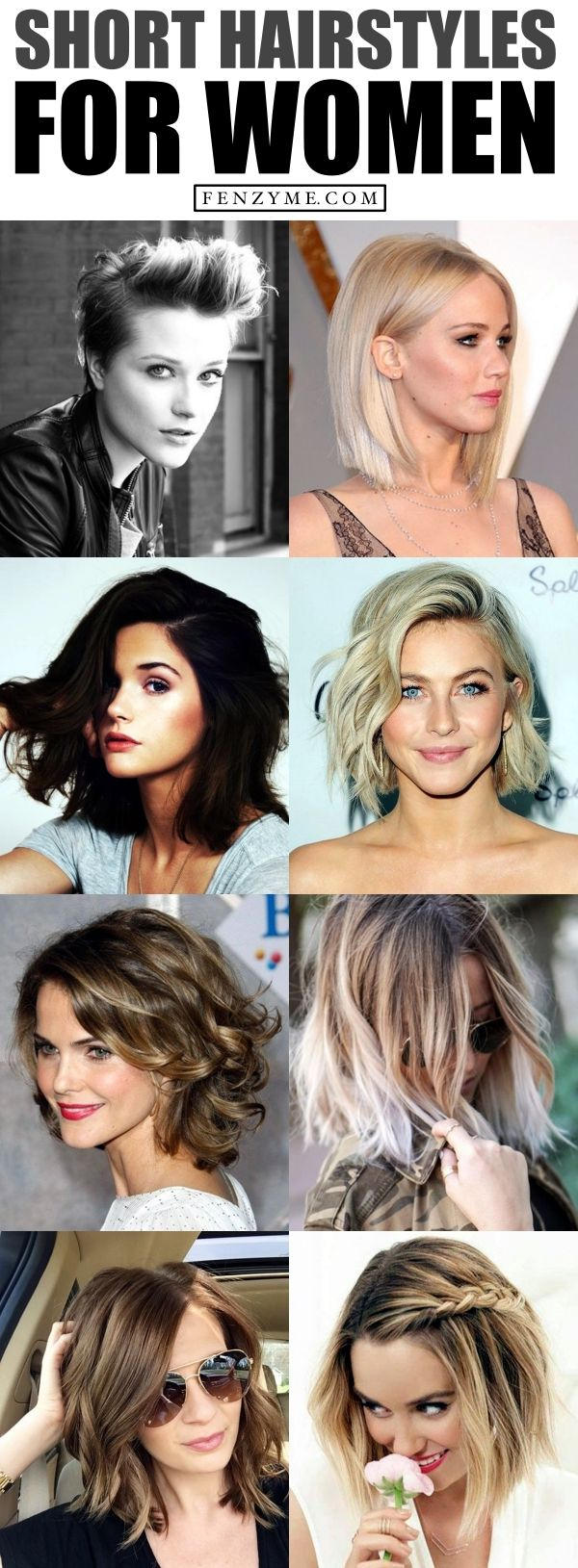 50 Extra-Chic Short Hairstyles For Women in 2017