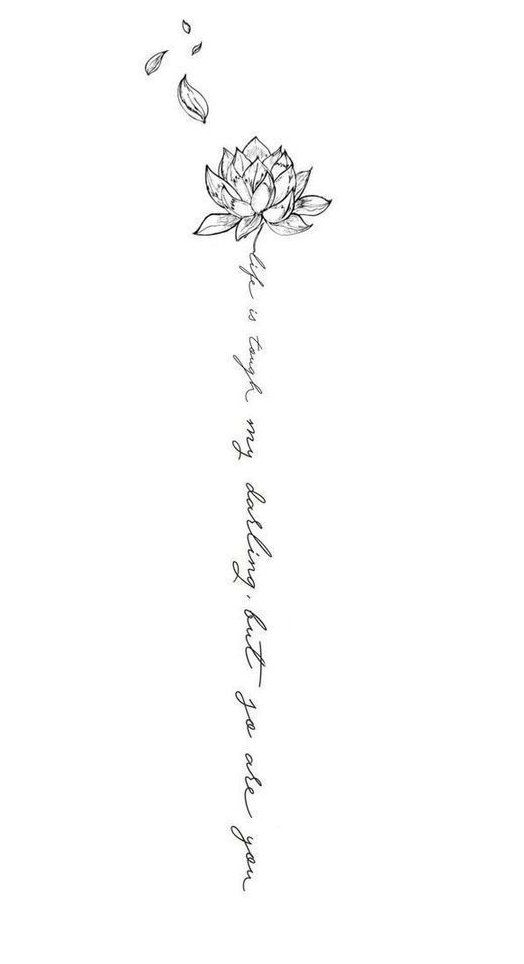 little tattoos for women with meaning words