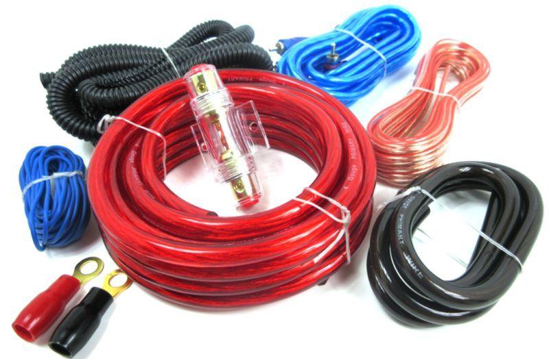 4 Gauge Amplifier Amp Install Kit Amplifier Installation Wiring Kit 2800w Amplifier Wiring Installation K Power Wire Kit Amp