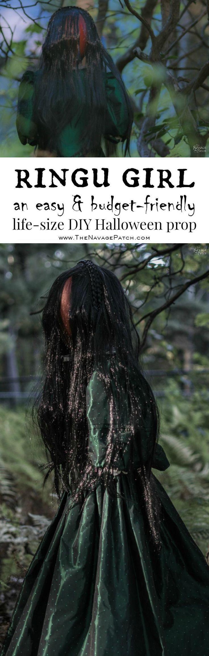 Ringu Girl {a Life-size Halloween Prop Creepy halloween props - diy halloween decorations scary