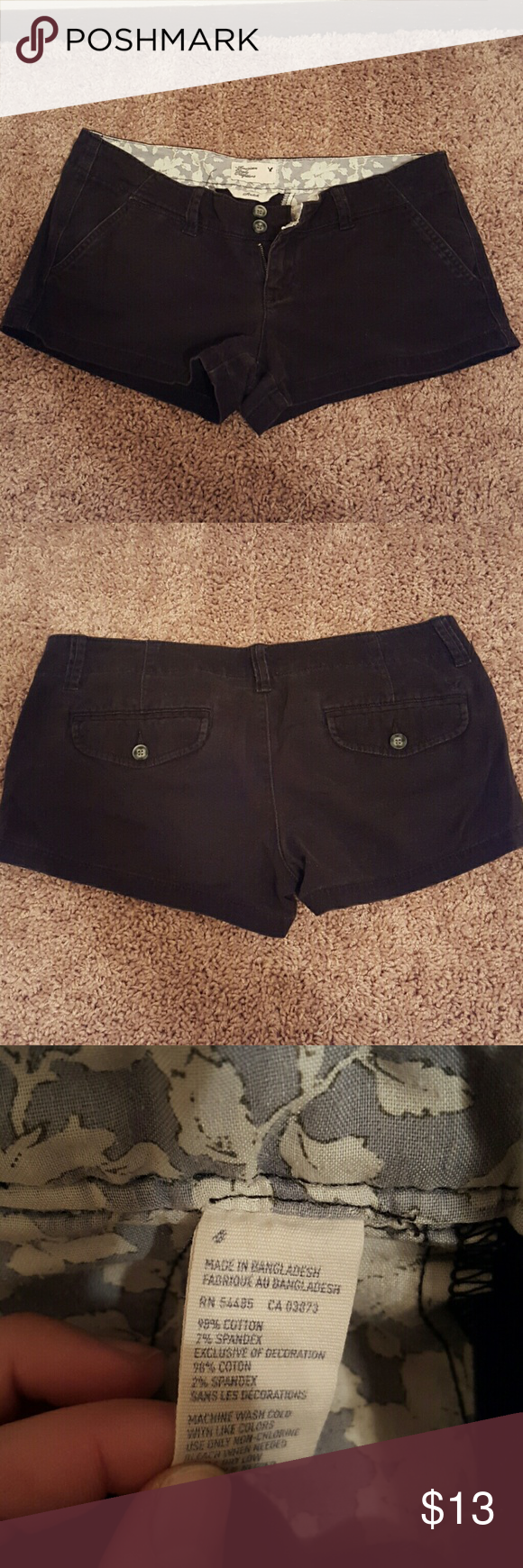 Black American Eagle Short Very soft and comfy short american eagle shorts. Just dont fit anymore. American Eagle Outfitters Shorts