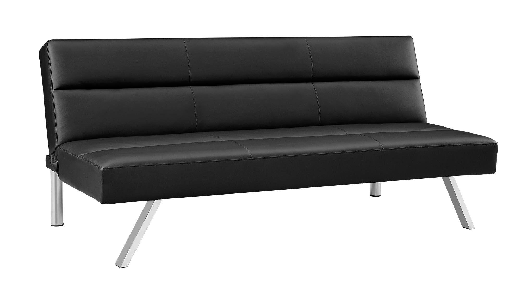 Best Premium Sofa Futon Couch Modern Design W Rich Faux Leather 400 x 300