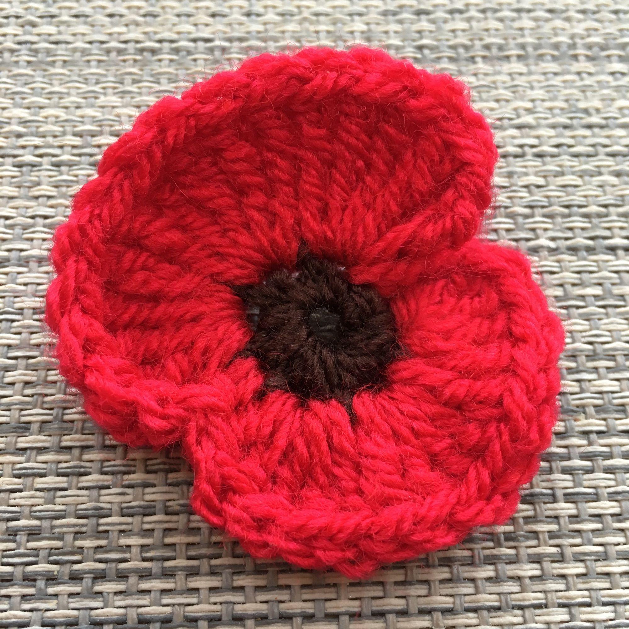 crochet poppy pattern | Crochet poppy pattern, Crochet ...