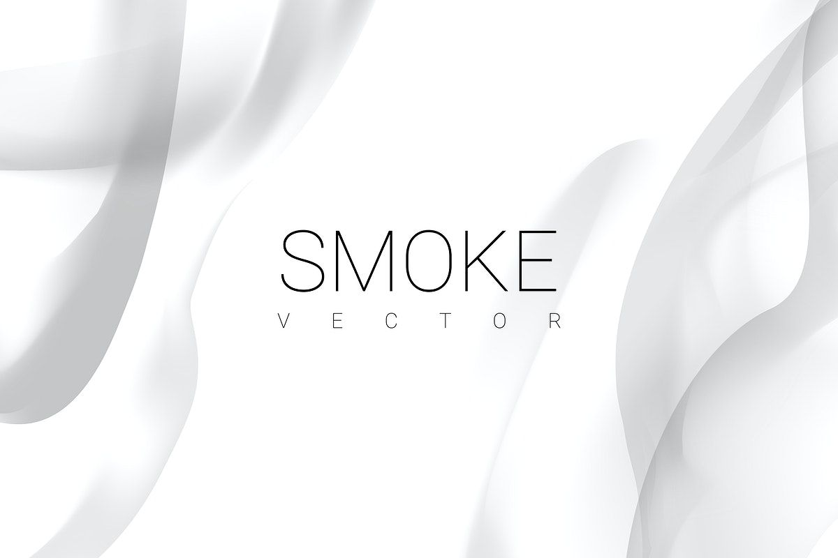 Gray Smoke Abstract On White Background Vector Free Image By Rawpixel Com Niwat Vector Free White Background Smoke Background