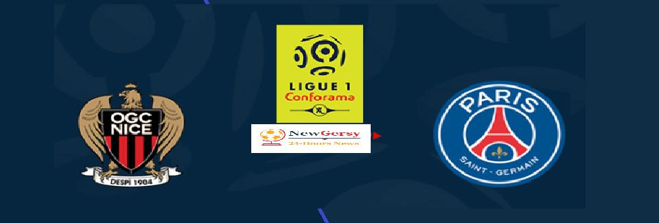 Nice vs PSG Live stream French Ligue 1 Today Match Team