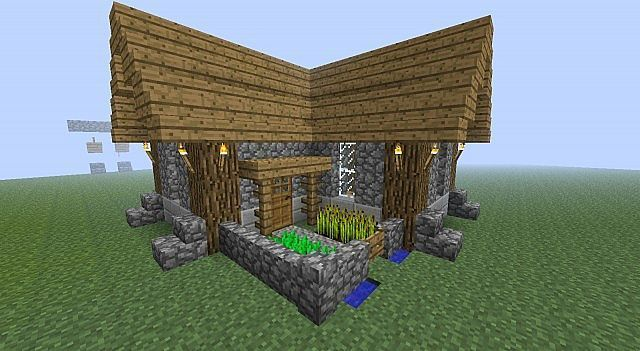 Minecraft Simple Compact Survival House Ps4 Ideas Of Ps4 Ps4 Playstation4 Min Minecraft House Designs Minecraft Houses Survival Easy Minecraft Houses