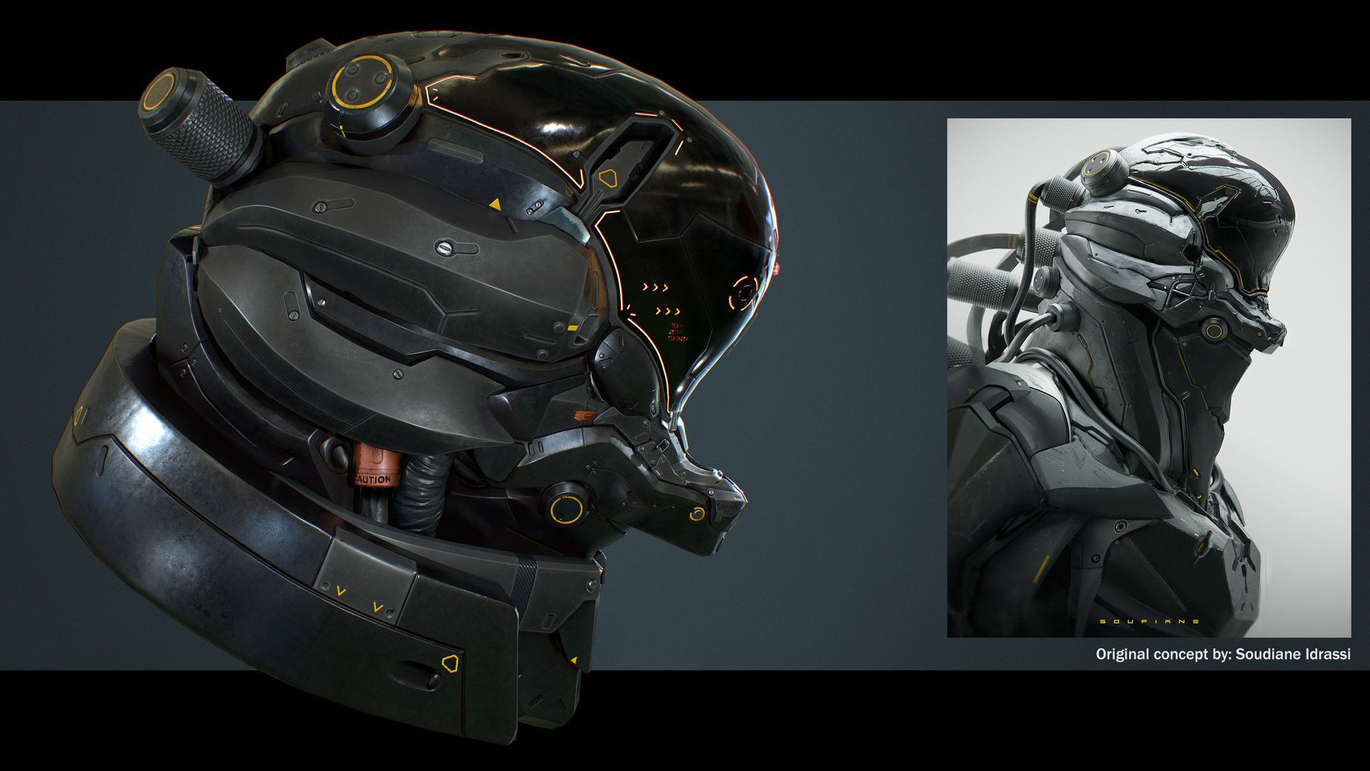 Artstation Sci Fi Helmet Hector S D Ors Helmet Military Helmets Face Design Hd wallpaper sci fi soldier helmet