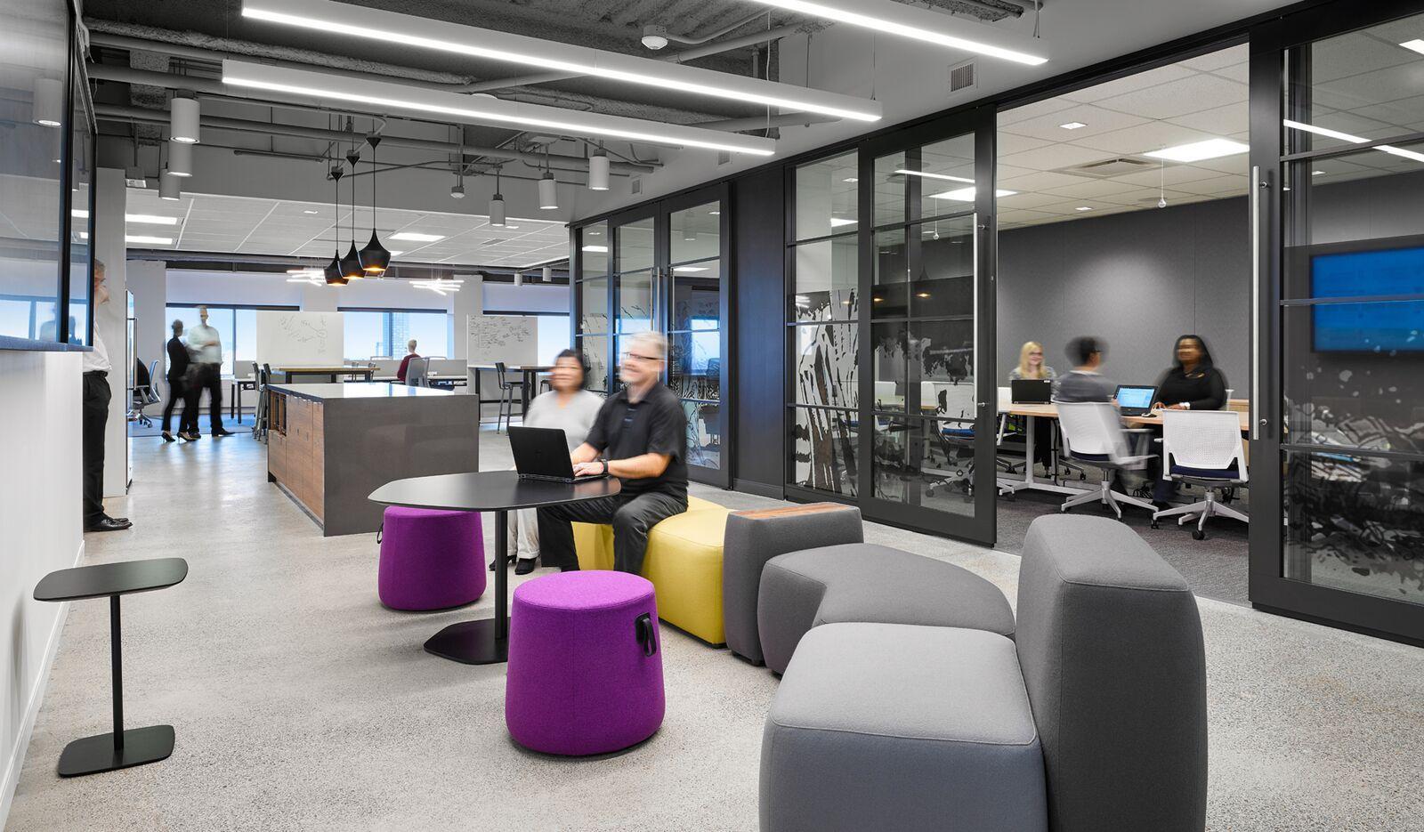 Aviva digital garage design source guide office space