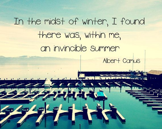 In The Midst of summer...typography photograph in by Tuesdaymoon, $12.99