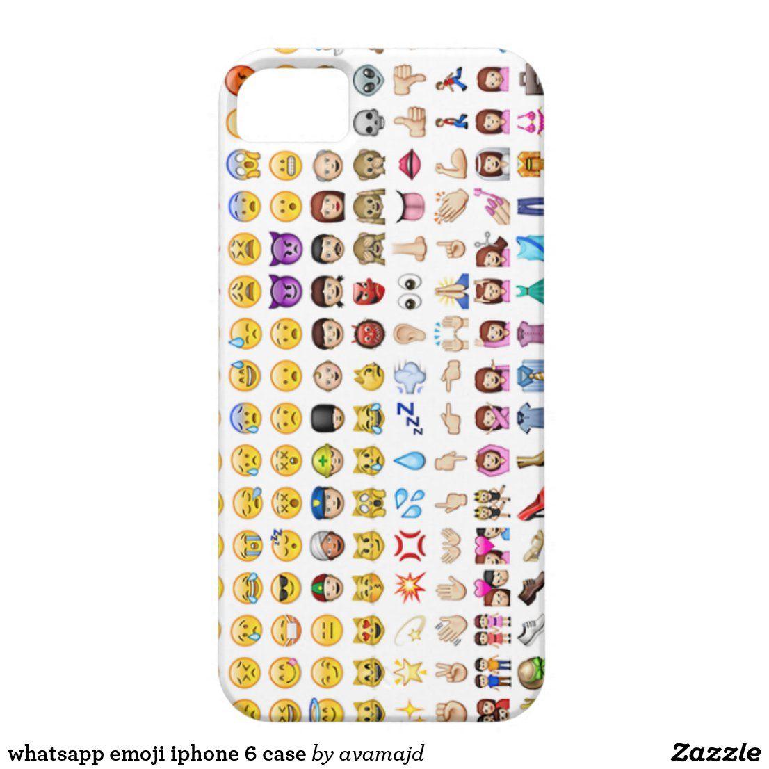 Whatsapp Emoji Iphone 6 Case Zazzle Com In 2020 Emoji Phone Cases Iphone 6 Case 6 Case