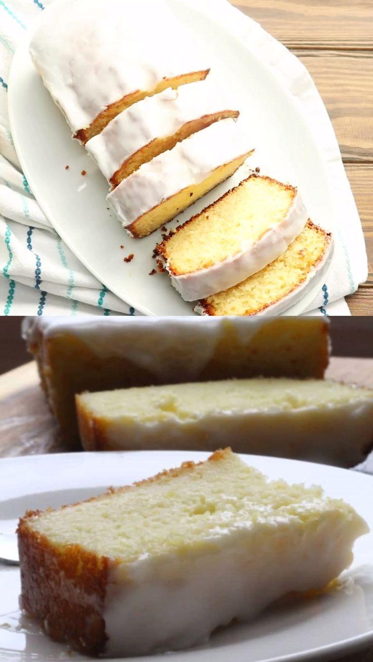 The Best Glazed Lemon Loaf + Recipe Video