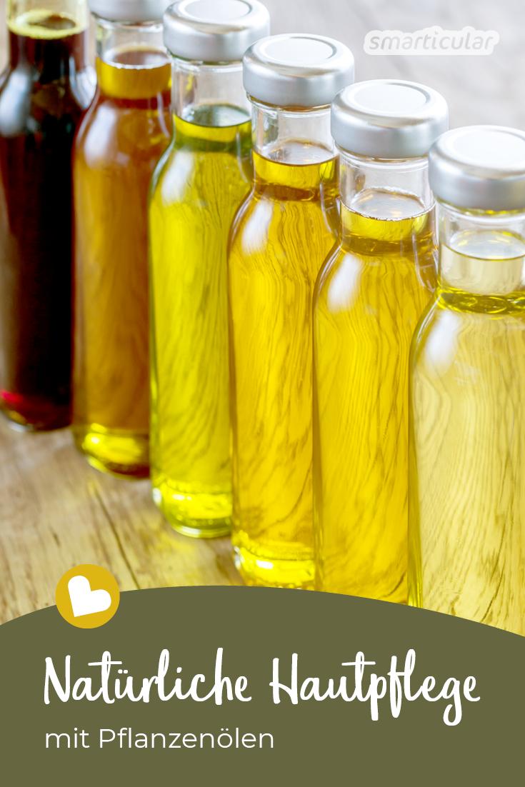 Einfache Hautpflege mit Pflanzenölen #healthyliving
