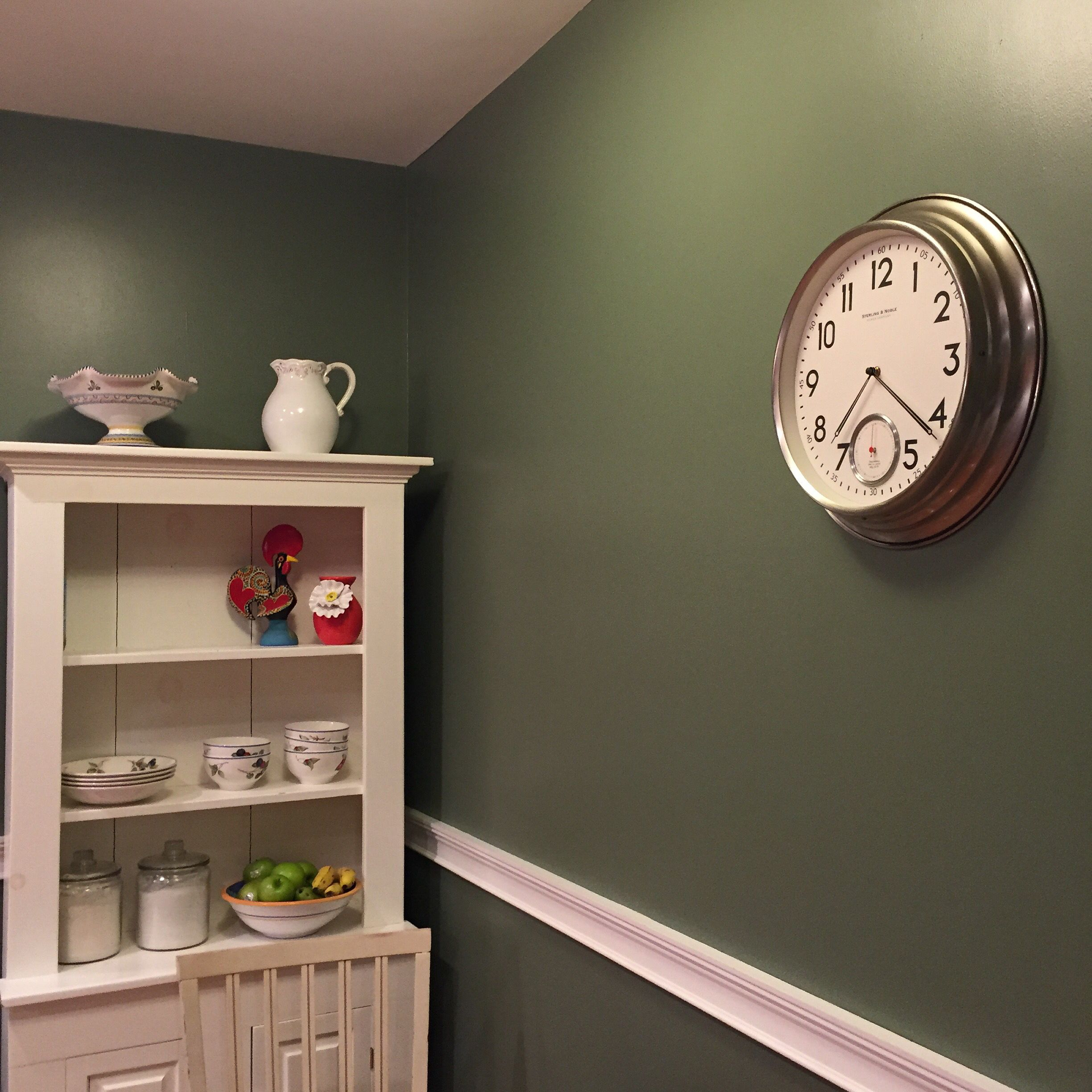Olive Kitchen Paint: Dried Thyme (Sherwin Williams) Kitchen