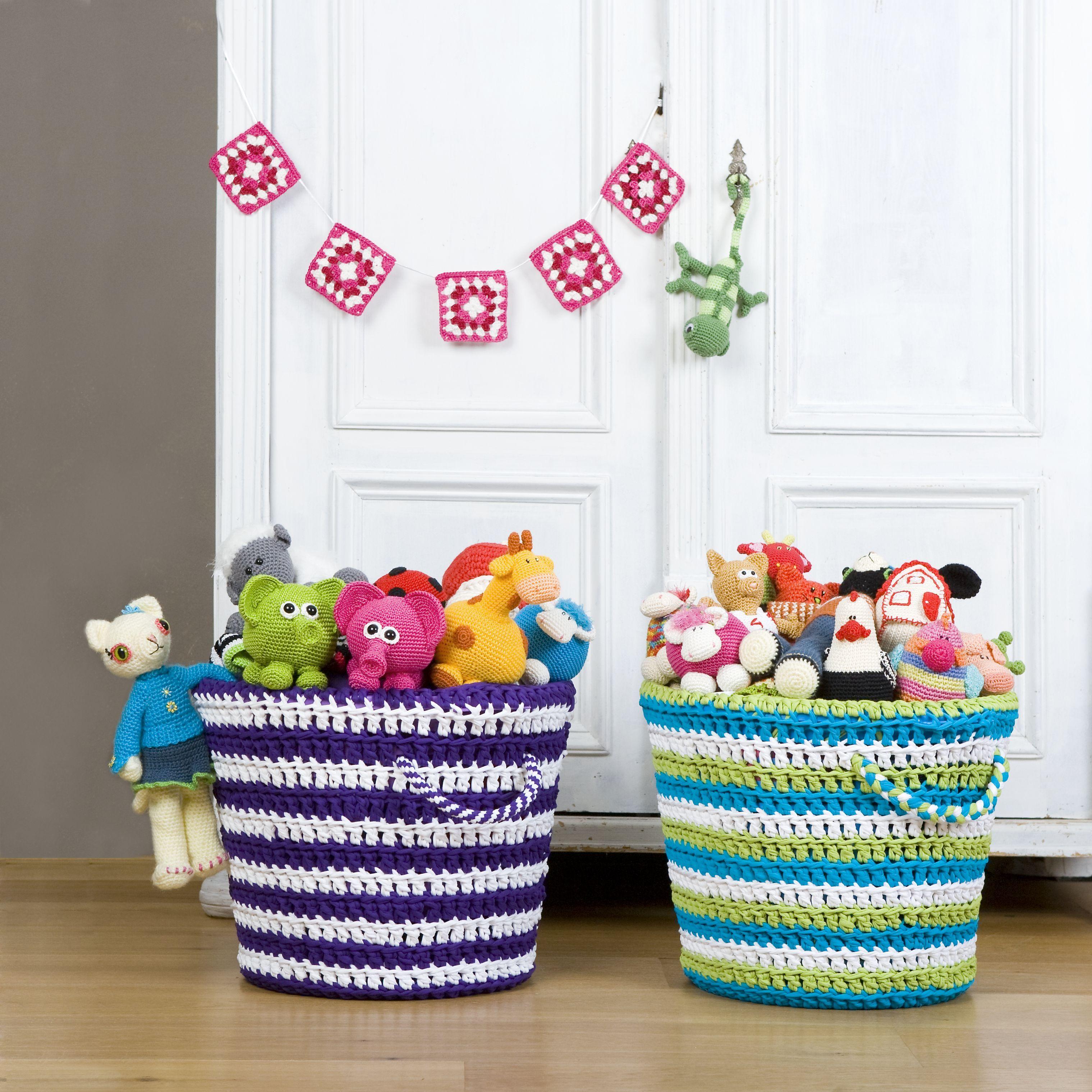 Crochet Basket Inspiration ❥ 4U // hf | trabajos con totora ...