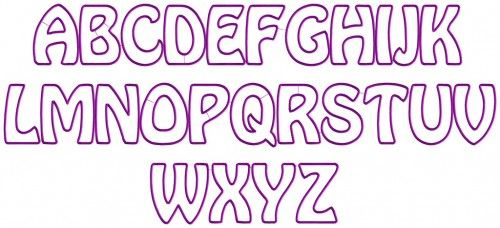 Applique Letter Templates Free  Google Search  Letters