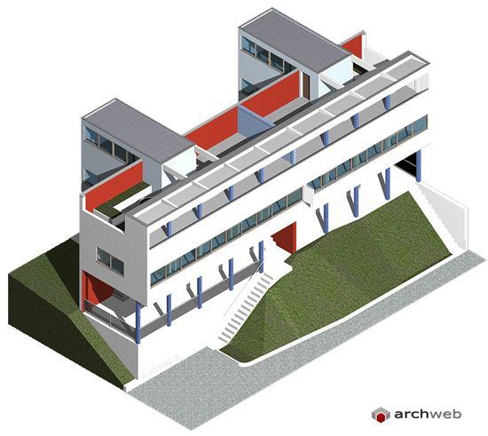 (1927) Le Corbusier buildings in Weissenhof [14-15]