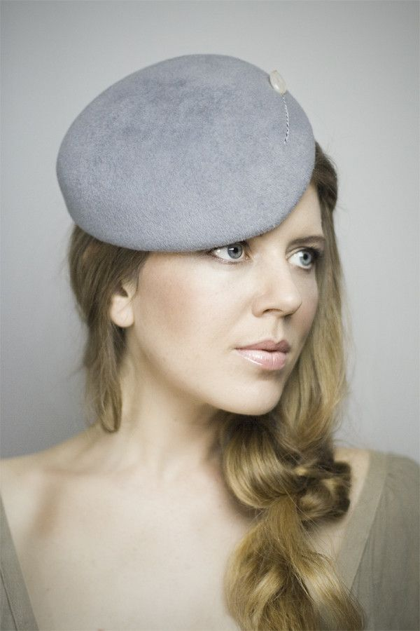 Maggie Mowbray Millinery - Jaunty Mini Cap. #passion4hats