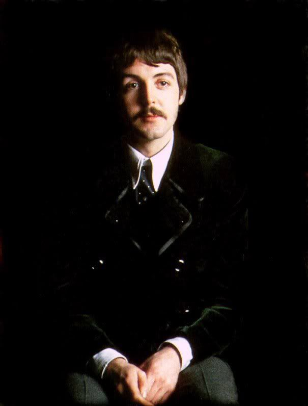 Paul Mccartney Moustache 1967 The Beatles Lennon And Mccartney Beatles Pictures