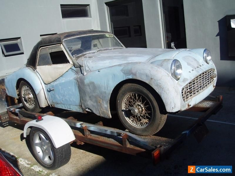 Car For Sale Triumph Hardtop Barn Find Suitable Restoration Or Historic Racecar