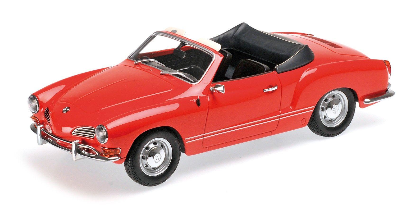 VOLKSWAGEN KARMANN GHIA CONVERTIBLE 1970 RED Car