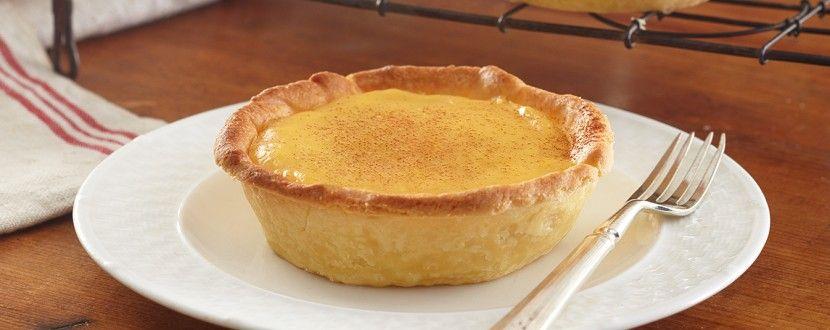 Custard Tart Using Sweetened Condensed Milk Condensed Milk Recipes