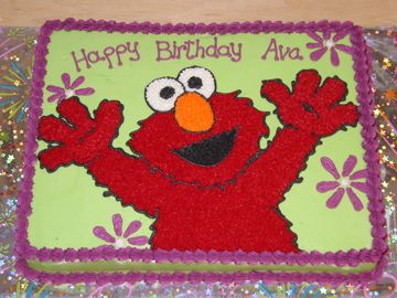 Elmo Cakes For Girls Character Cakes Madelines 2nd Bday Party