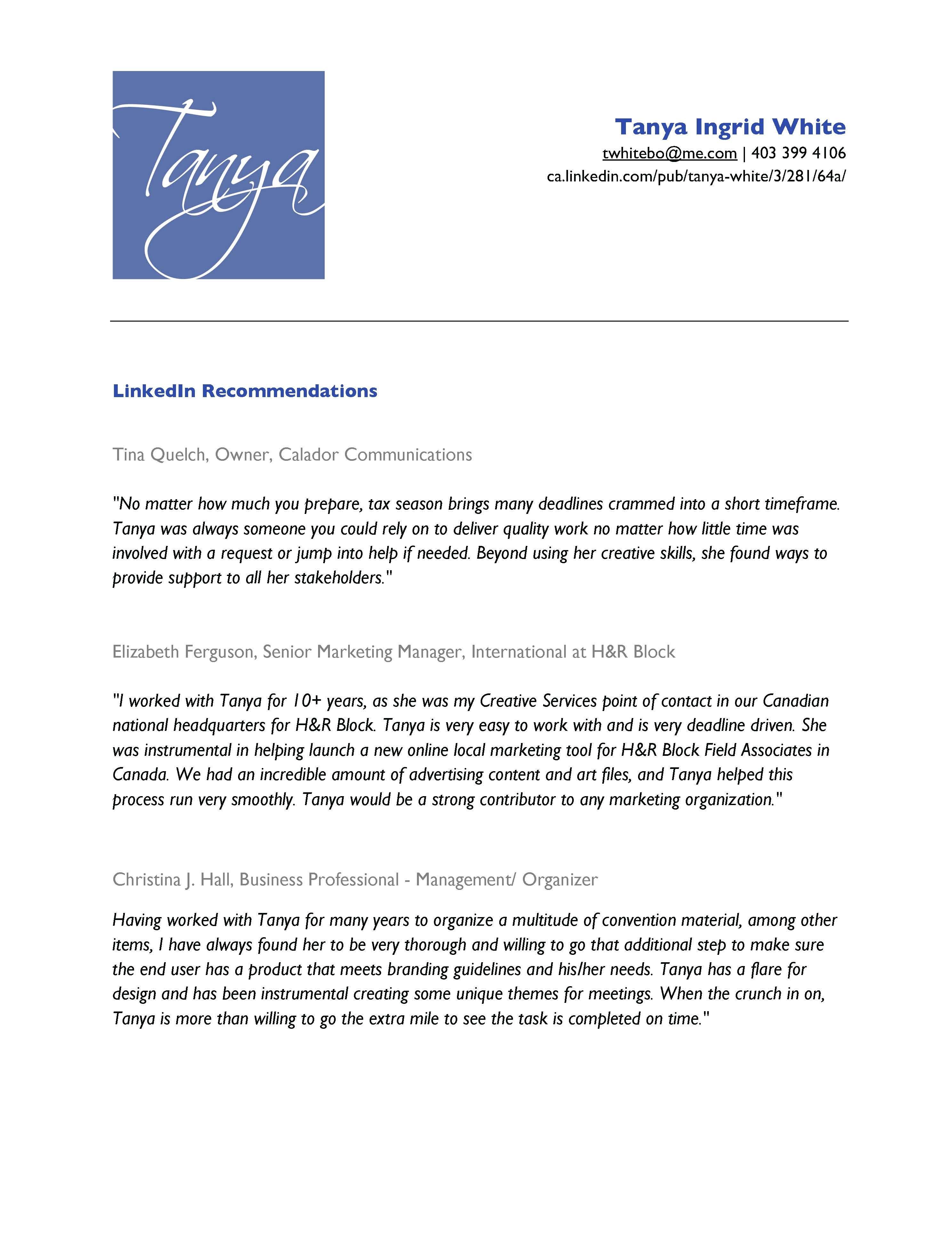 Recommended Resume Font Linkedin Recommendations  Linkedin  Pinterest