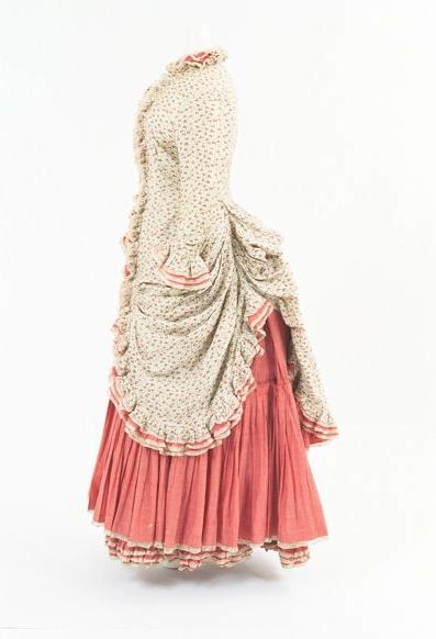 Bunka Gakuen Costume Museum c.1872 I think I have stash fabric for this...!