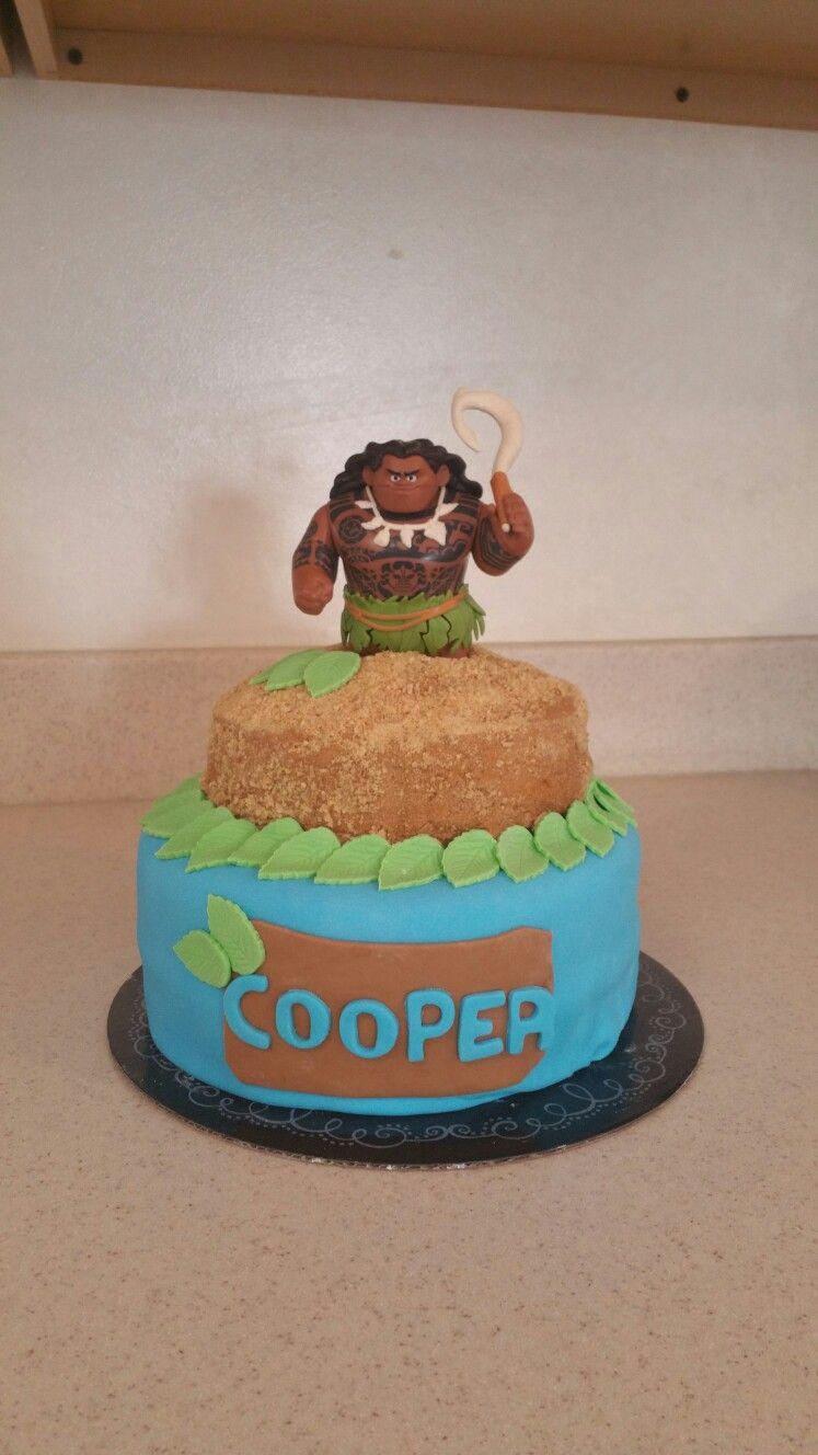Maui from Moana cake. | Cake ideas | Moana birthday party, Moana ...