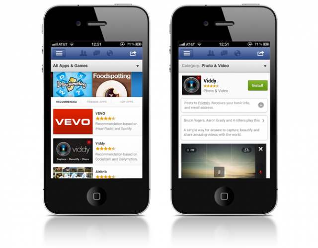 App Discovery By Quality, Not Popularity Facebook