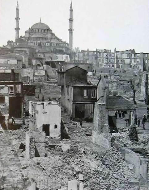atpazari fatih muhtemelen 1903 senesi eski istanbul fotograflari arsivi istanbul tarihi evler sehir