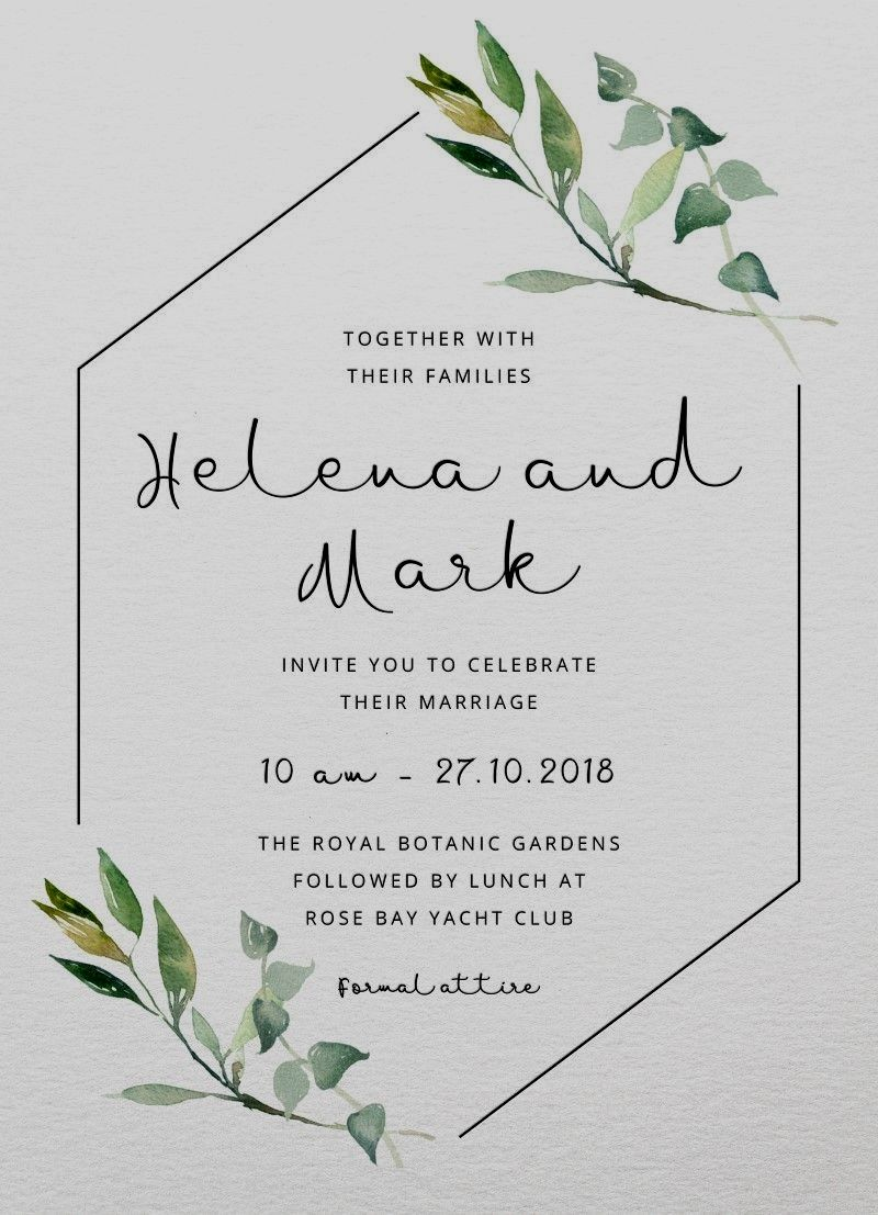 digital wedding invitations australia